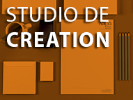 Studio de création d'Action Sud Marketing